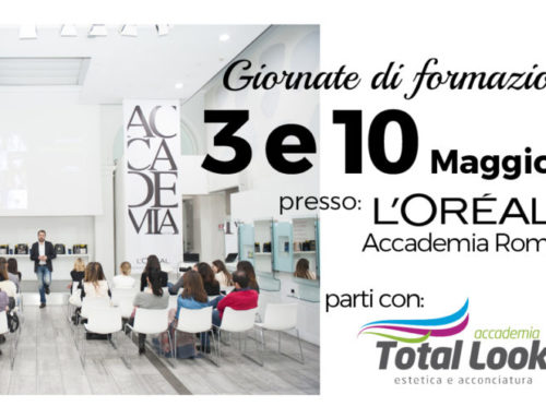Accademia Total Look road to Accademia L'Oreal Roma