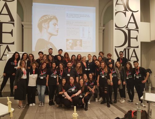 Accademia Total Look goes to ACCADEMIA L'OREAL ROMA 3/10 MAGGIO